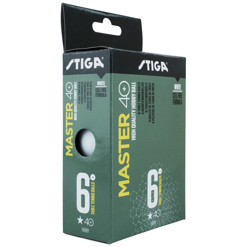 Мяч для настольного тенниса Stiga Master ABS 1* Диаметр 40+