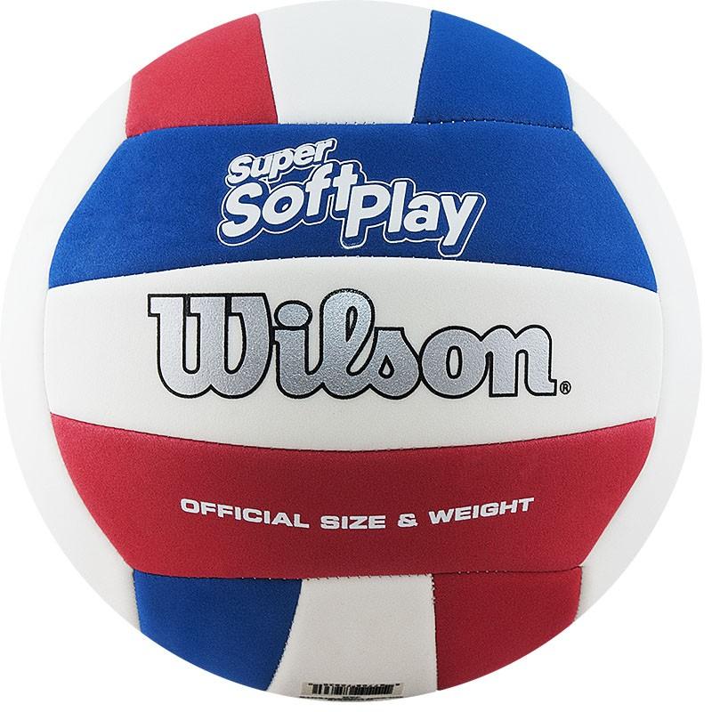 Мяч волейбольный Wilson Super Soft Play размер 5