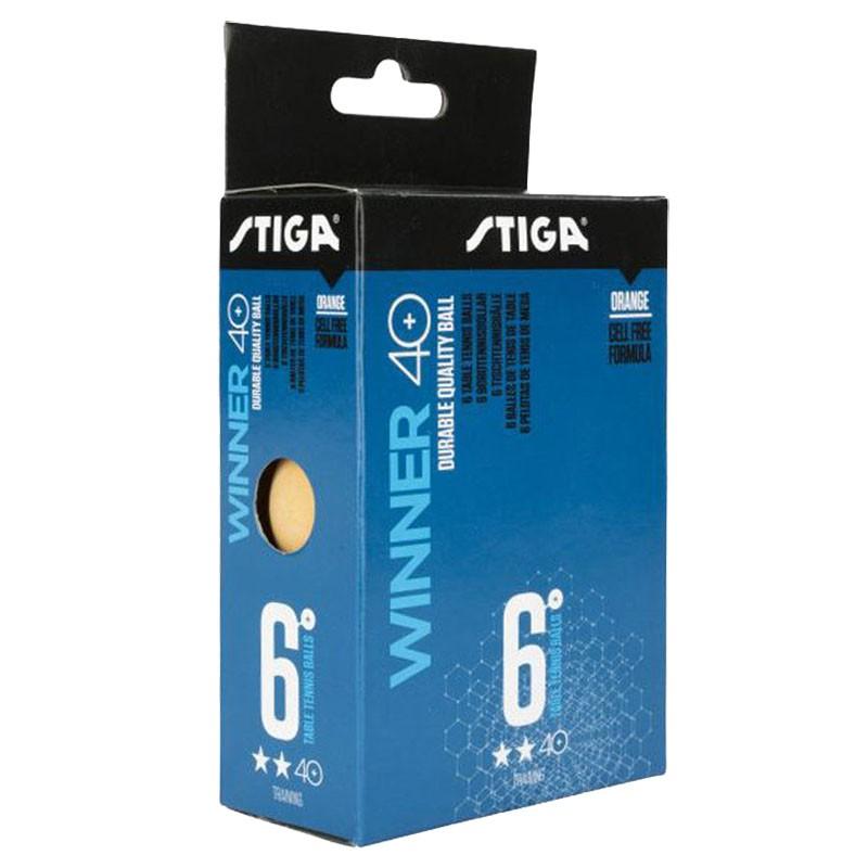 Мяч для настольного тенниса Stiga Winner ABS 2** Диаметр 40+