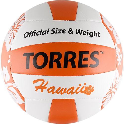 Мяч для пляжного волейбола TORRES Hawaii размер 5
