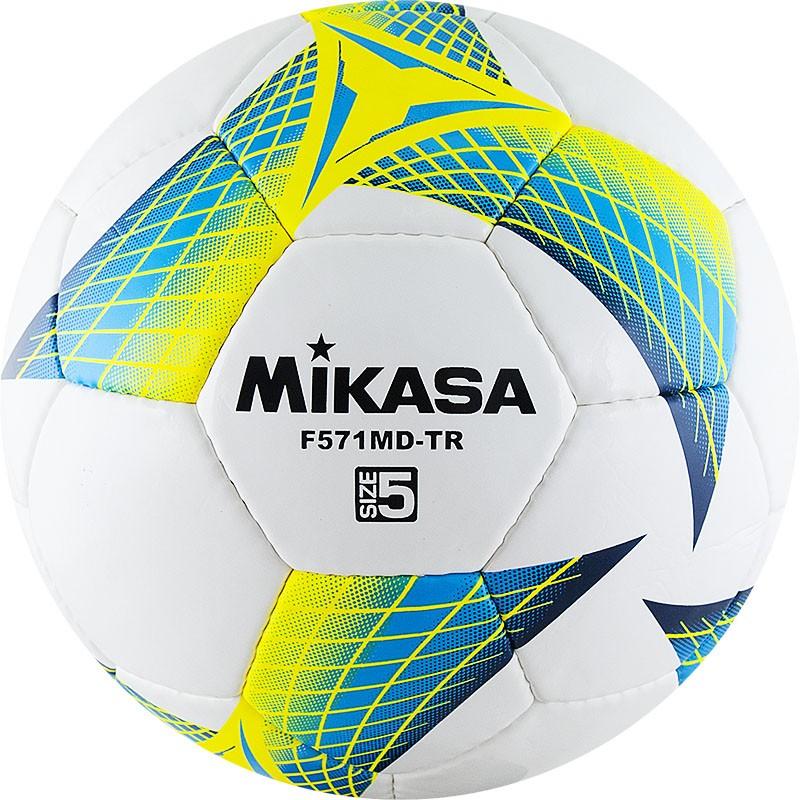 Мяч футбольный MIKASA F571MD-TR-B размер 5
