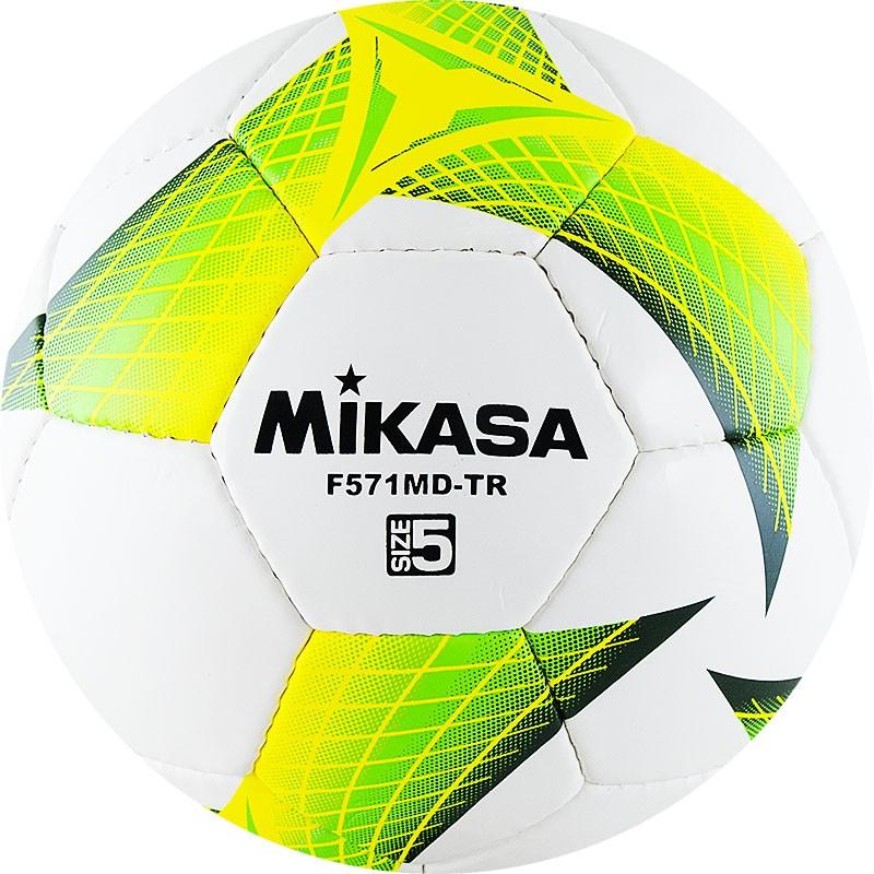 Мяч футбольный MIKASA F571MD-TR-G размер 5