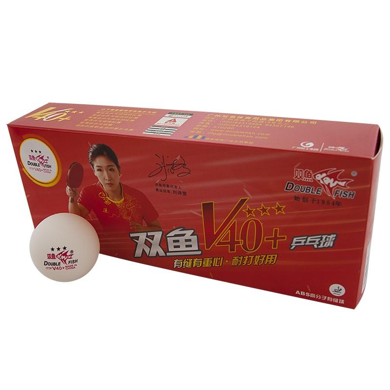 Мяч для настольного тенниса Double Fish 3*** 40+ Диаметр 40+