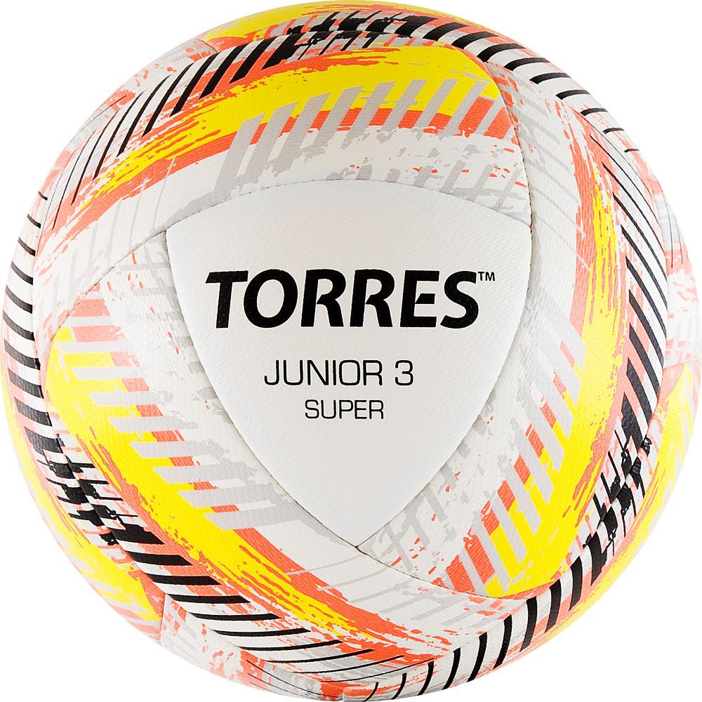 Мяч футбольный TORRES Junior-3 Super размер 3