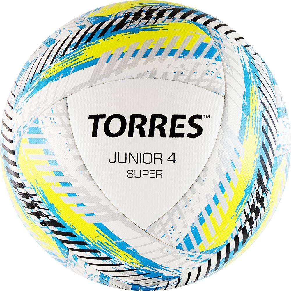 Мяч футбольный TORRES Junior-4 Super размер 4