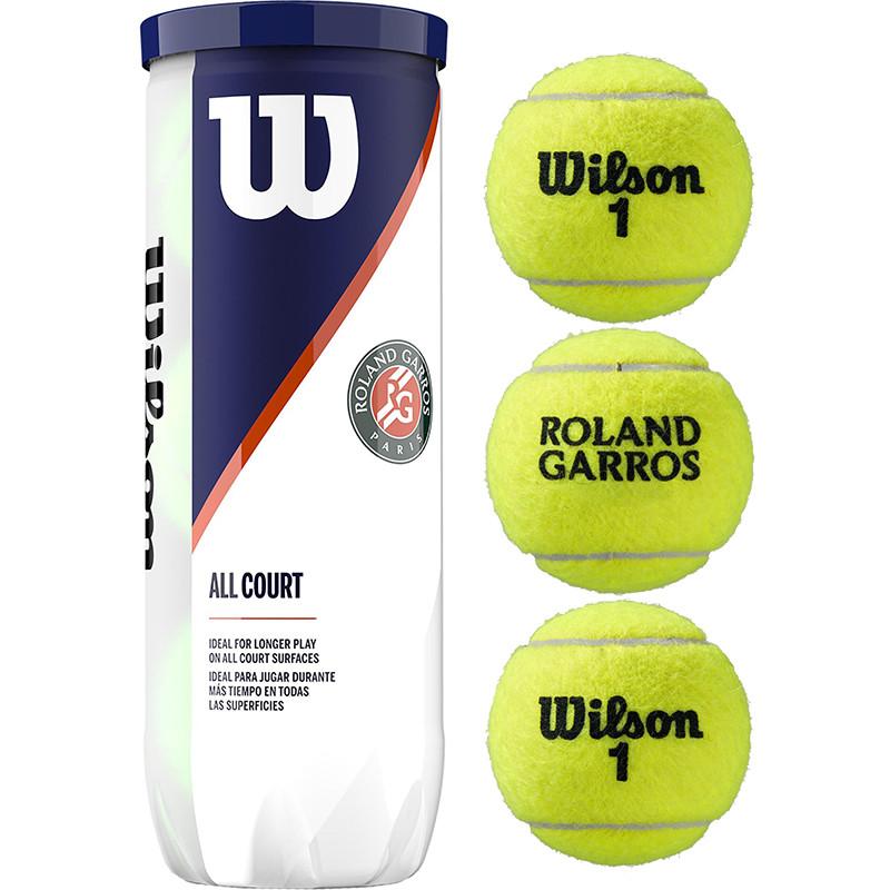 Мяч для большого тенниса Wilson Roland Garros All Court