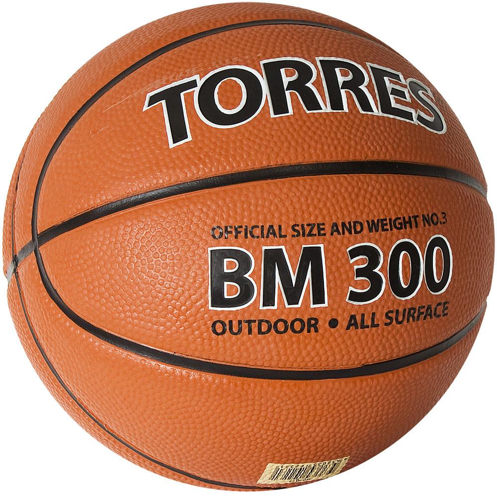 Баскетбольный мяч TORRES BM300 размер 3