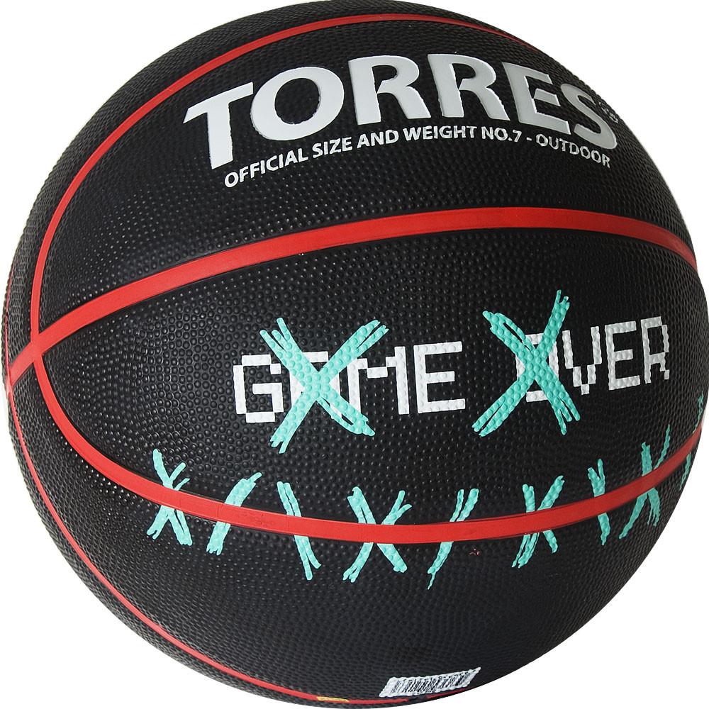 Баскетбольный мяч TORRES Game Over размер 7