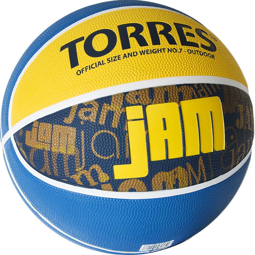 Баскетбольный мяч TORRES Jam размер 7