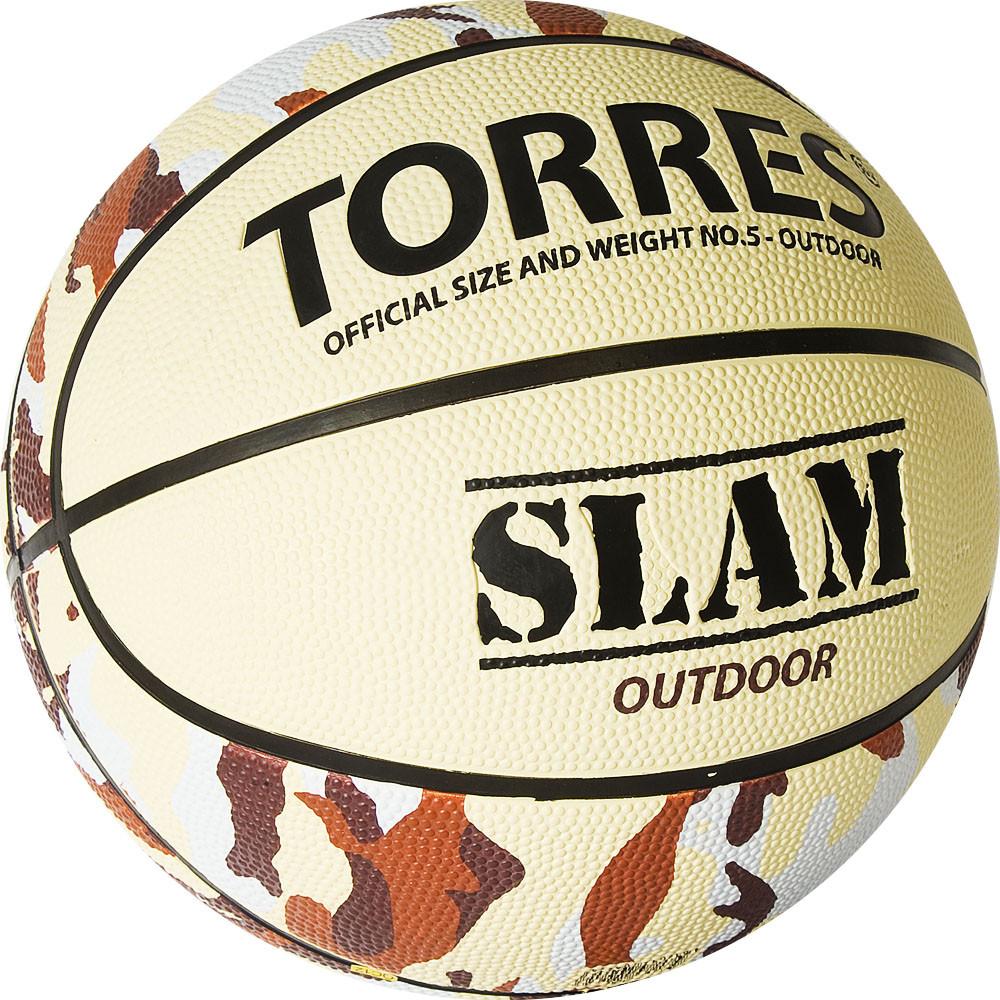 Баскетбольный мяч Мяч баскетбольный TORRES Slam размер 5