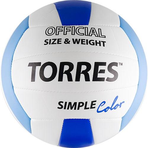 Волейбольный мяч TORRES Simple Color размер 5