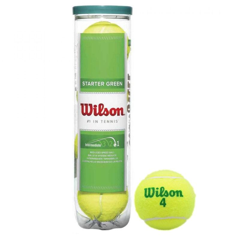 Мяч для большого тенниса WILSON Starter Green Play 7