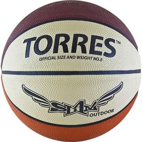 Баскетбольный мяч TORRES Slam размер 5