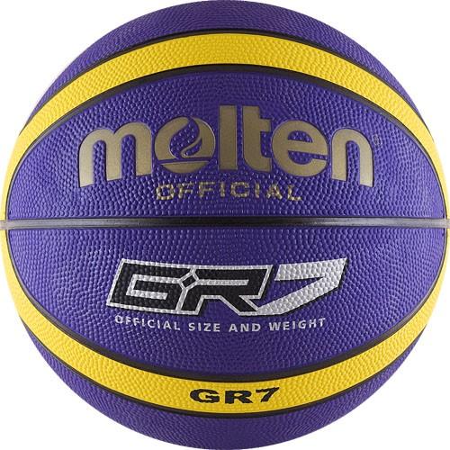 Баскетбольный мяч Molten BGR7-VY размер 7