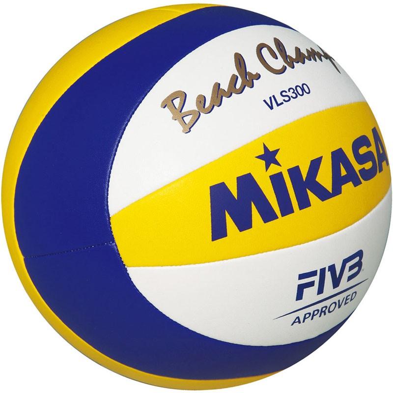 Мяч для пляжного волейбола Mikasa VLS300 Beach Champ размер 5