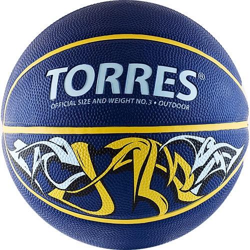 Баскетбольный мяч TORRES Jam размер 3