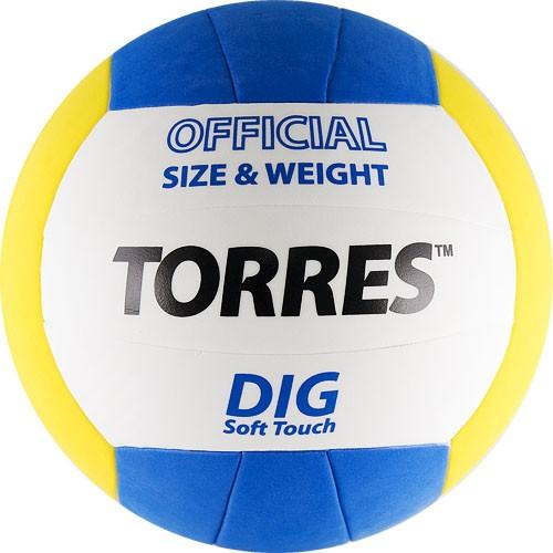 Волейбольный мяч TORRES Dig размер 5