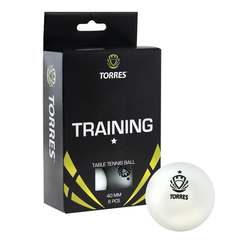 Мяч для настольного тенниса TORRES диаметр 40+