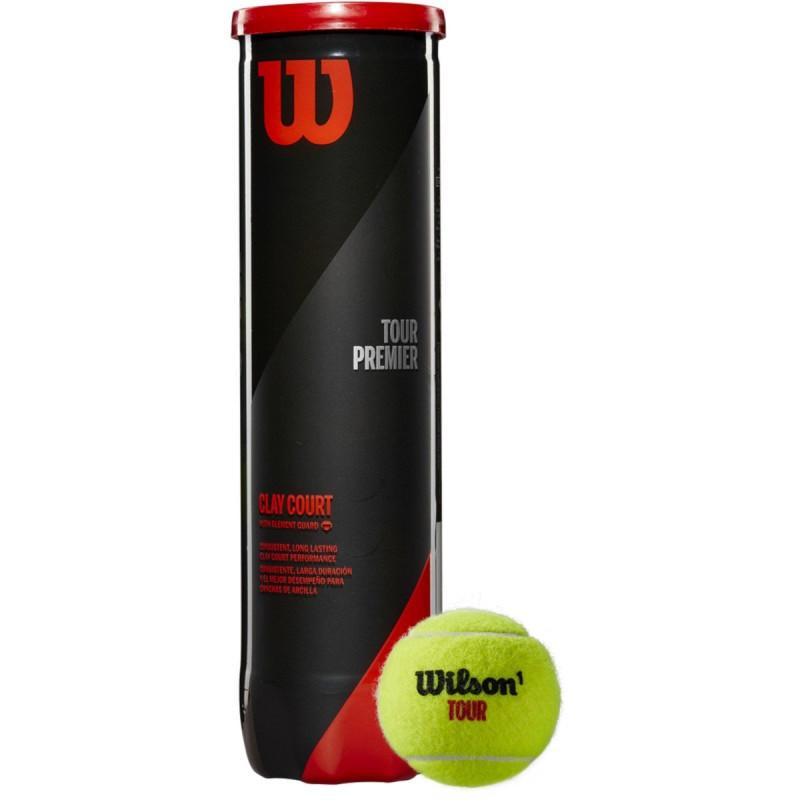 Мяч для большого тенниса Wilson Tour Premier Can Clay