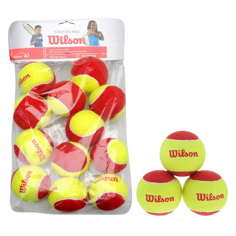 Мяч для большого тенниса WILSON Starter Red