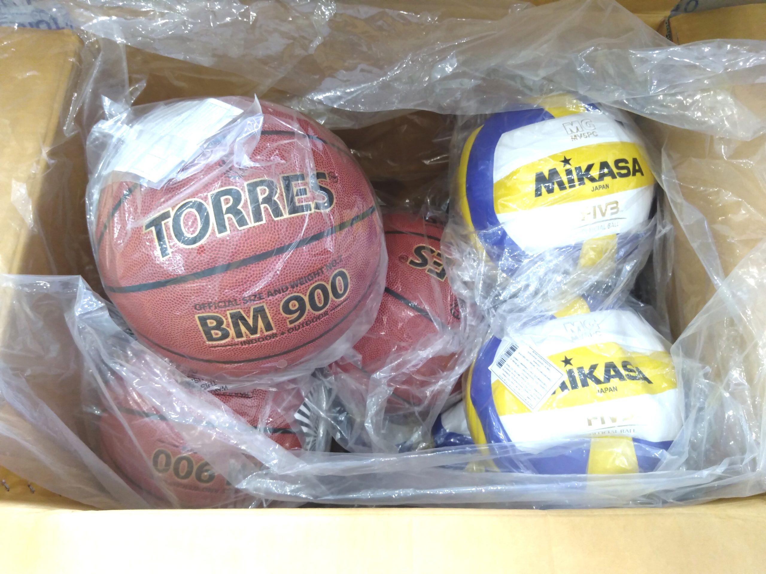 Большое поступление мячей Mikasa, Adidas, Wilson, Torres